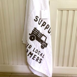 Other - Support Your Local Farmers Kitchen Towel Large